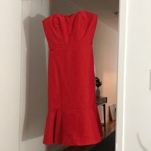 Jcrew holiday dress, only worn once!